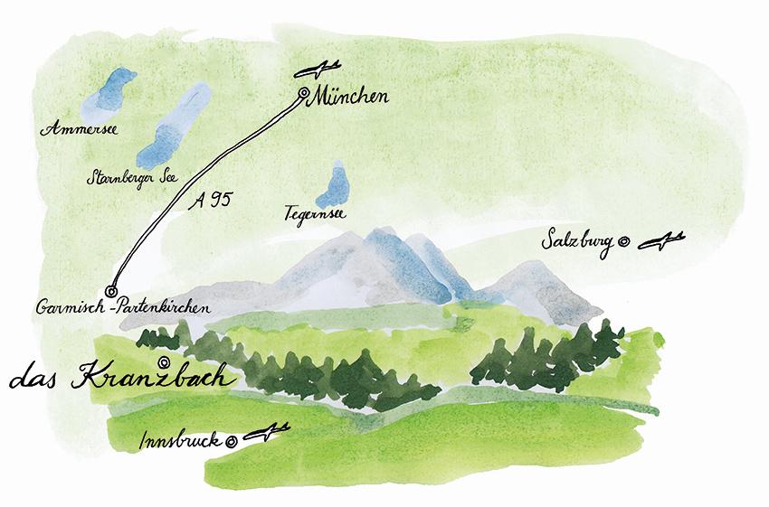 das kranzbach klais bayerische alpen pretty hotels. Black Bedroom Furniture Sets. Home Design Ideas