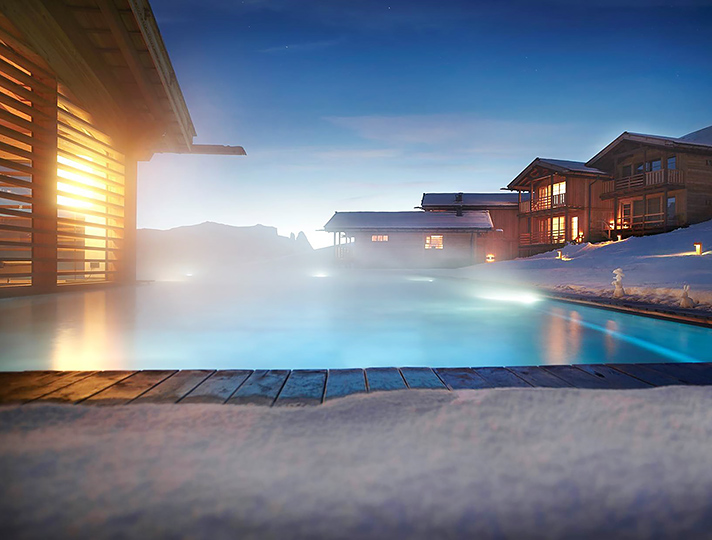 adlermountainlodge4 chalet Stunning Luxury Chalets for Winter Holidays on the Nature adlermountainlodge4