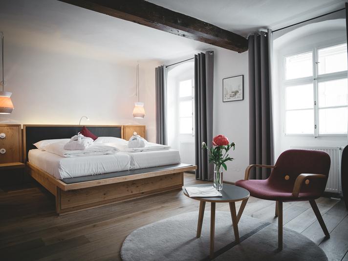 Medium Room arthotel Blaue Gans Salzburg