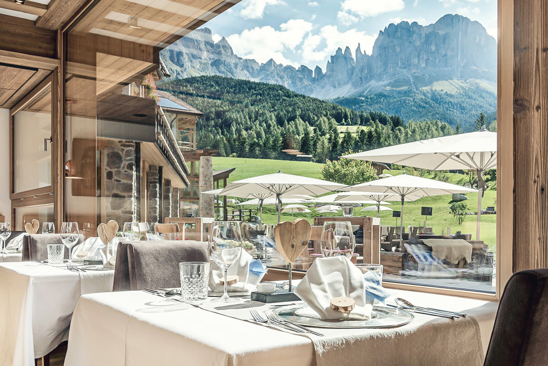 Cyprianerhof tiers am rosengarten s dtirol pretty hotels for Boutique hotel kaltern