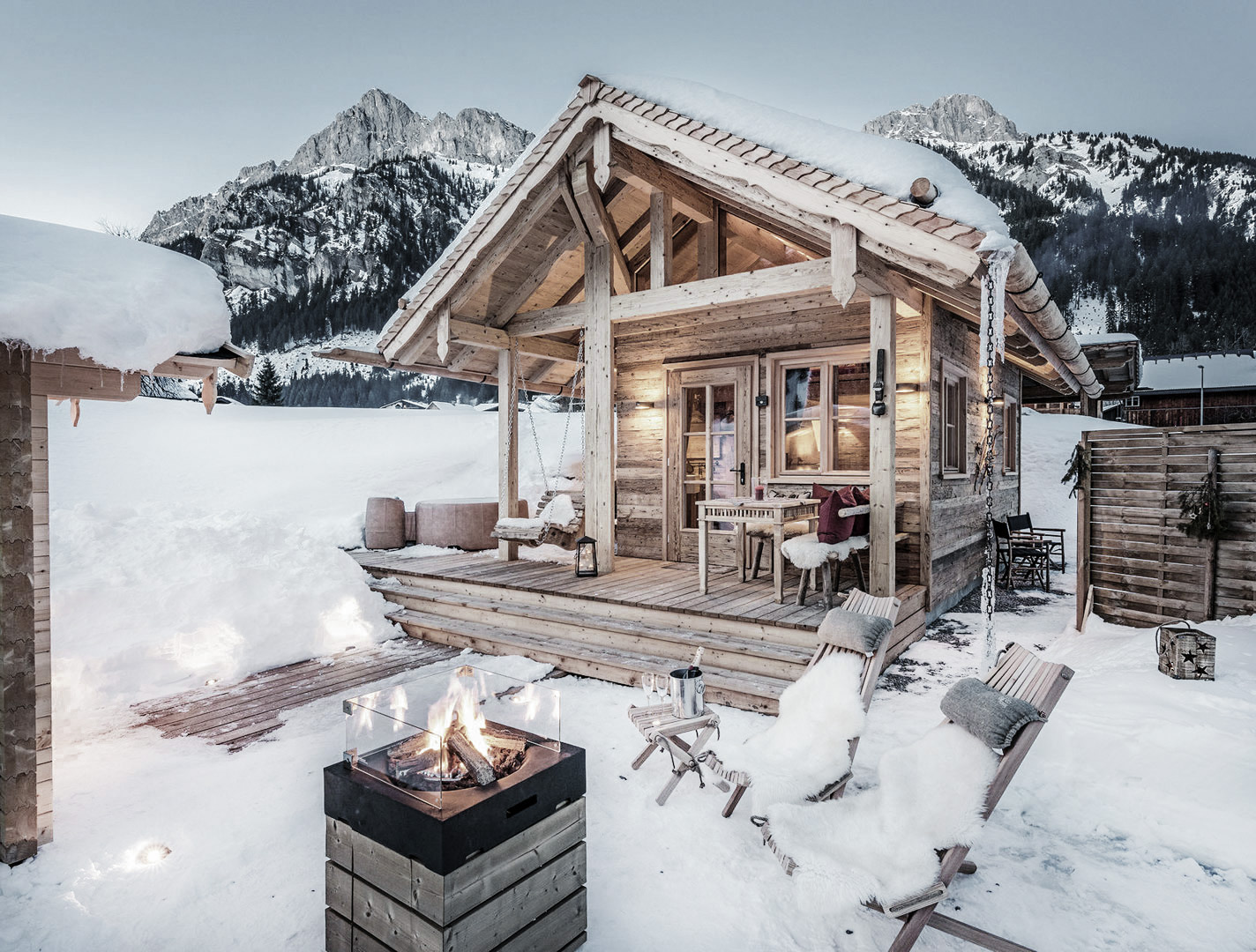 Chalet Grand Flüh the best winter chalets apartments pretty hotels