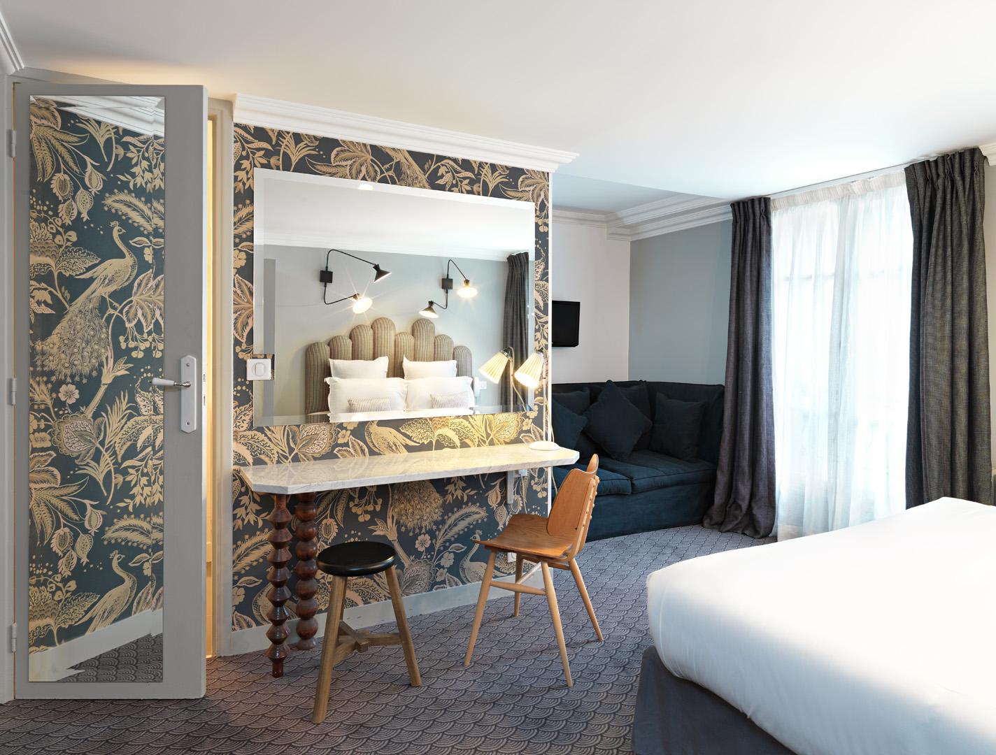 Hotel Paradis, Paris France. Photo : Kristen Pelou